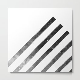 Galaxy Stripes Metal Print