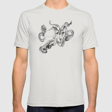 Octopoda Silver SMALL Mens Fitted Tee