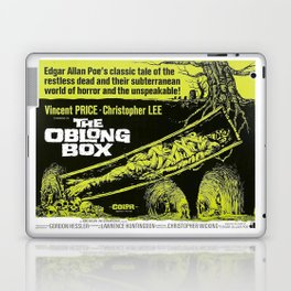 The Oblong Box, vintage horror movie poster Laptop & iPad Skin