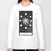 tarot Long Sleeve T-shirts featuring Star Tarot by Corinne Elyse