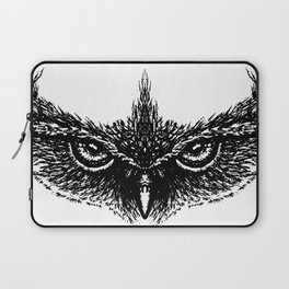 Focused (White) Laptop Sleeve