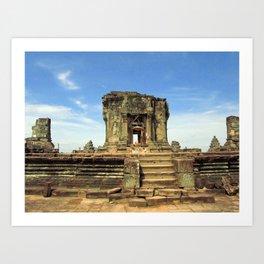Angkor, Cambodia Art Print