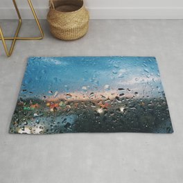 Evening Rainfall Rug