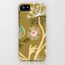Meadow Flowers iPhone Case