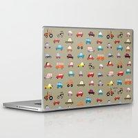 cars Laptop & iPad Skins featuring Cars by Marcelo Badari