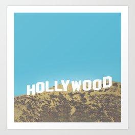 Hollywood Gold Rush Art Print