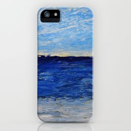 Simple Seascape iPhone Case