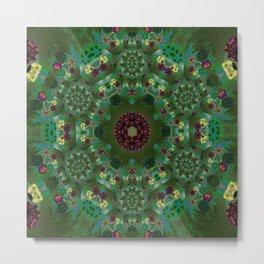 Kaleidoscope of Mandalic Universes Metal Print