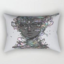 Interplay of Color Rectangular Pillow