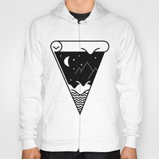 Slice of the night landscape Hoody