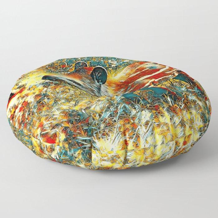 AnimalArt_Tapir_201901_by_JAMColors Floor Pillow