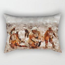 The Horror of War, WWI Rectangular Pillow