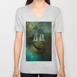 Crow House Revisited Unisex V-Neck