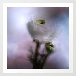 take time to look at flowers -10- Art Print