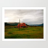 alaska Art Prints featuring Alaska by Julia Blanchette