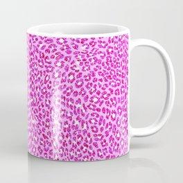 Light Pink Glitter Cheetah Print Coffee Mug