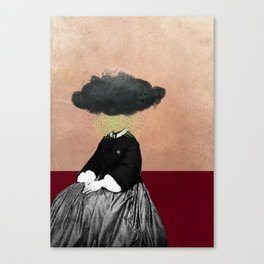 Cloudy Disposition Canvas Print