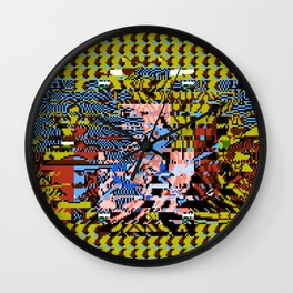 One Part Flesh, One Part Life, One Part Sentience Wall Clock