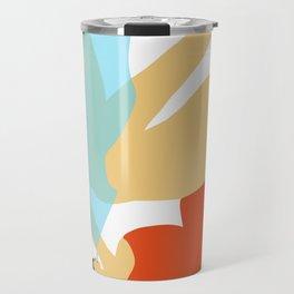 Girl Smoking Travel Mug