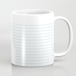 Notepaper Coffee Mug