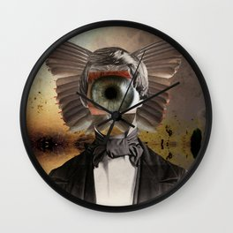 Mr. Insomnia Wall Clock