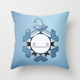 CRY-OGONAL Throw Pillow