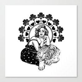 Modern Love Canvas Print