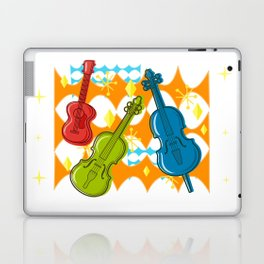 Sunny Grappelli String Jazz Trio Composition Laptop & iPad Skin