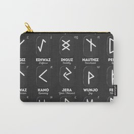 Viking Runes Carry-All Pouch