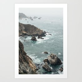 No Swimming Art Print