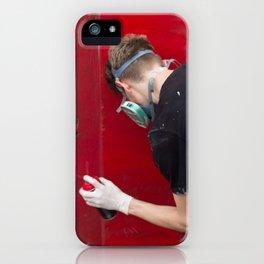 Red Graffiti iPhone Case