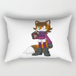 Fall Fox Rectangular Pillow