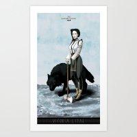 The Hatchet League - Vitoria Art Print