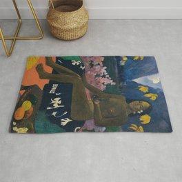 Paul Gauguin - Te aa no areois (The Seed of the Areoi) Rug