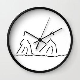 nordic walking fitness sport Wall Clock