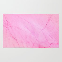 Light Pink Marble Texture Rug