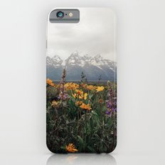 Wildflowers and Mountains - Summer in the Tetons Slim Case iPhone 6s
