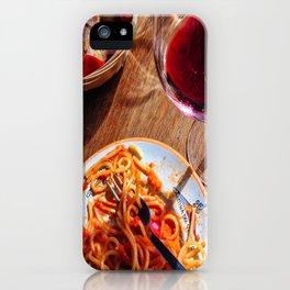 Pasta & Magic iPhone Case