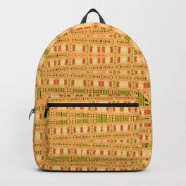 Aboriginal Dreamtime Art Stripes Backpack