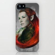 Head of Elven iPhone (5, 5s) Slim Case