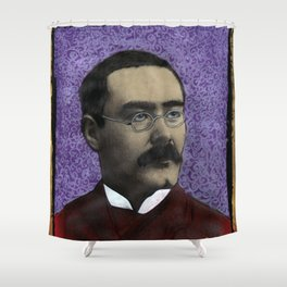 Rudyard Kipling Shower Curtain