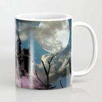 dracula Mugs featuring Dracula by tanduksapi