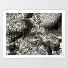 Places in Black & White: Whiskeytown 7 Art Print