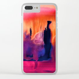 Tigre Clear iPhone Case