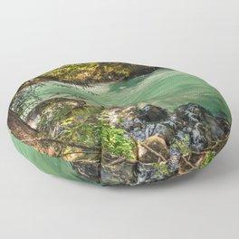 PNW River Floor Pillow