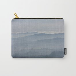 Blue Morning Carry-All Pouch