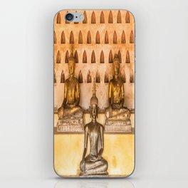 Wat Si Saket Buddhas II, Vientiane, Laos iPhone Skin