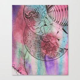 Tangleflower Canvas Print