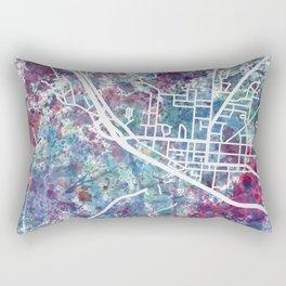 Bath map NY New York Rectangular Pillow