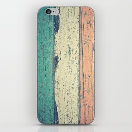 Abstract Panel Colors iPhone Skin